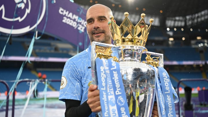 Pep Guardiola is Premier League manager of the season for 2020/21