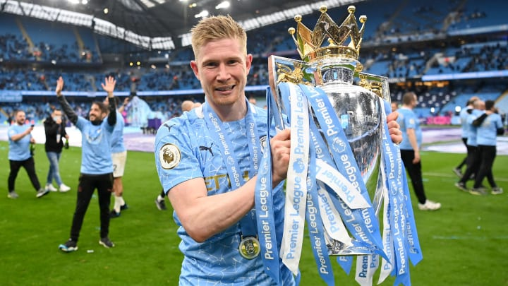 Kevin De Bruyne won the PFA Players' Player of the Year award