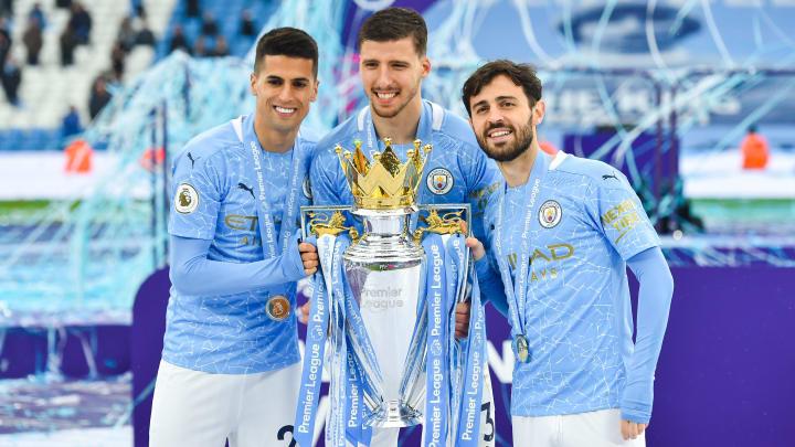 Man City won their fifth Premier League title in 2020/21