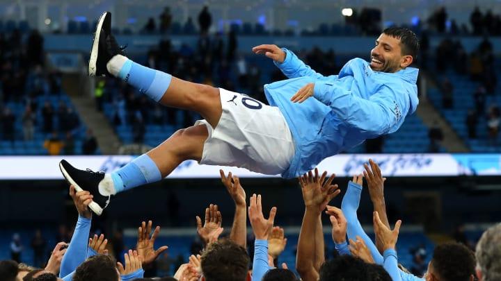 Sergio Aguero has shown his gratitude to Man City staff