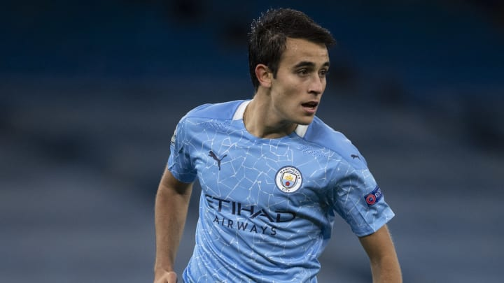 Eric Garcia is likely to remain with Man City in January