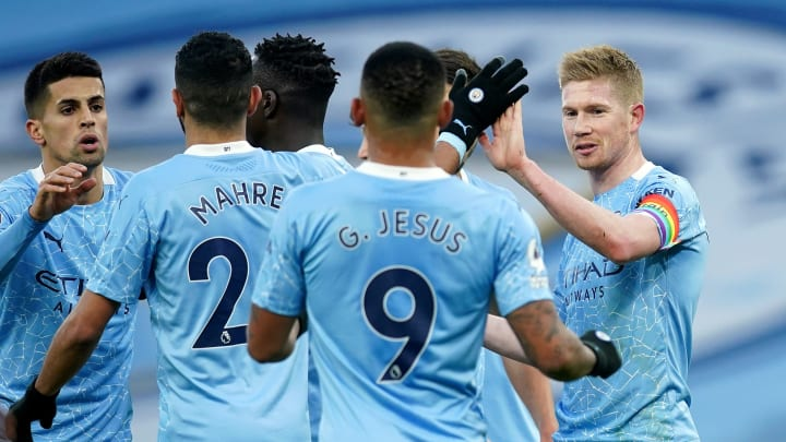 Manchester City are unbeaten in their last six games in all competitions.