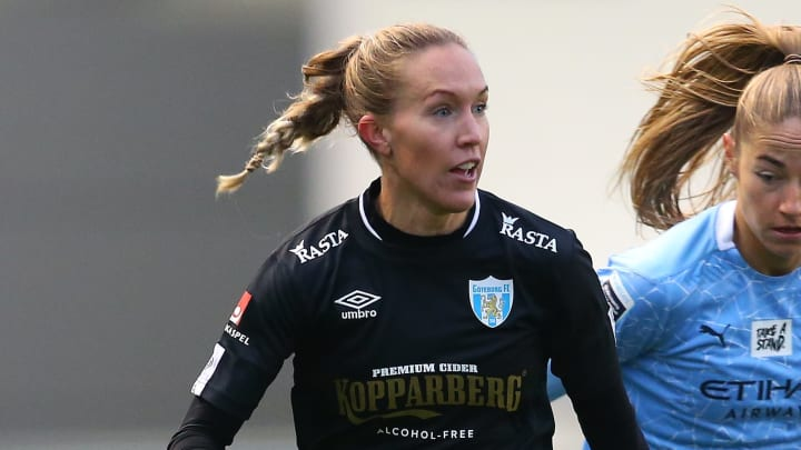Kopparbergs/Goteborg were knocked out of the Women's Champions League at the last 32 stage