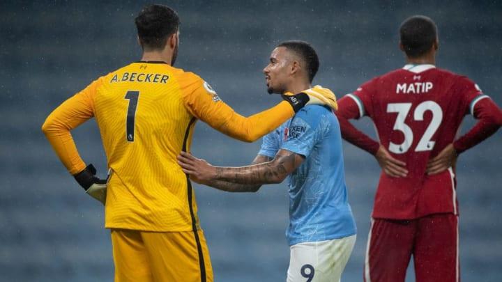 Im Hinspiel trennten sich Liverpool und Manchester City 1:1.