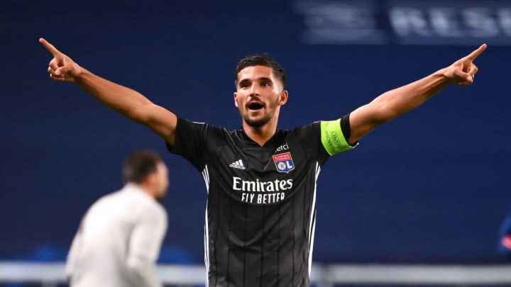 Aouar was part of the Lyon side who dumped Manchester City out of the Champions League