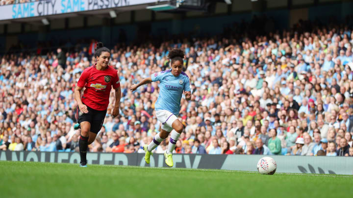 Manchester United versus Manchester City on Saturday is a mouthwatering prospect