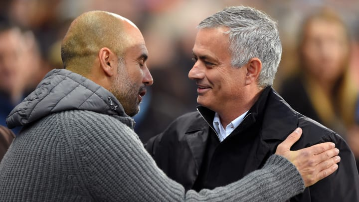 Jose Mourinho and Pep Guardiola have clashed 23 times in their managerial careers