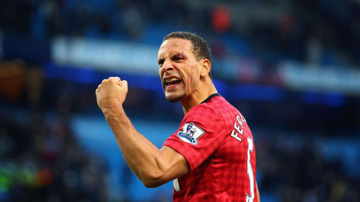 Rio Ferdinand a connu une époque dorée avec United, formant avec Nemanja Vidic une charnière centrale quasi-imprenable.