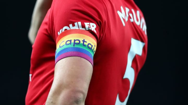 Maguire's captain's armband