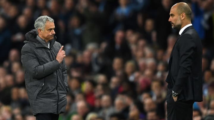 Jose Mourinho has battled with Pep Guardiola over the years