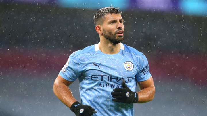 Four clubs are reportedly interested in signing Sergio Aguero in the summer