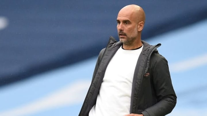 Pep Guardiola saw his side romp to victory over Newcastle