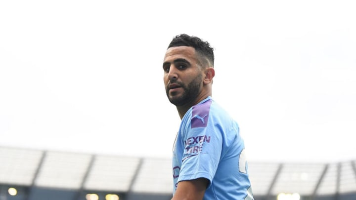 Riyad Mahrez continues to develop into an ever more important player for Manchester City