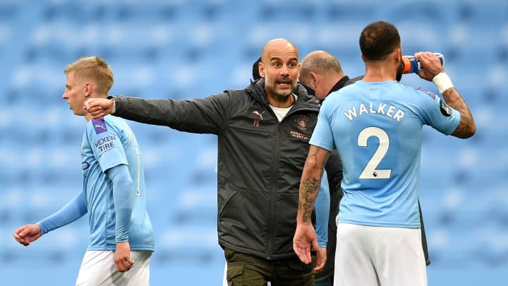 Pep Guardiola, Kyle Walker