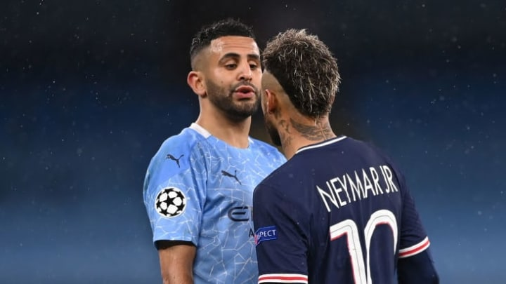 Riyad Mahrez, Neymar