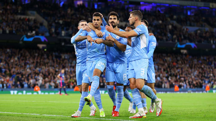 It was a hight-scoring encounter at the Etihad