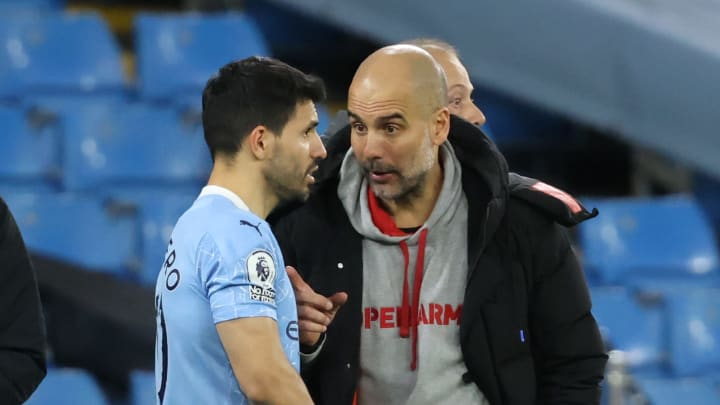 Guardiola stood by his striker after his penalty blunder