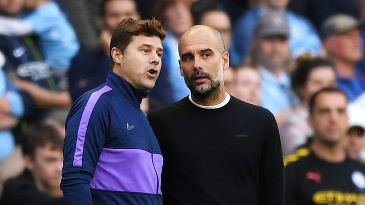 Mauricio Pochettino (l.) mit PSG oder Pep Guardiola mit ManCity: Wer zieht ins Finale ein?