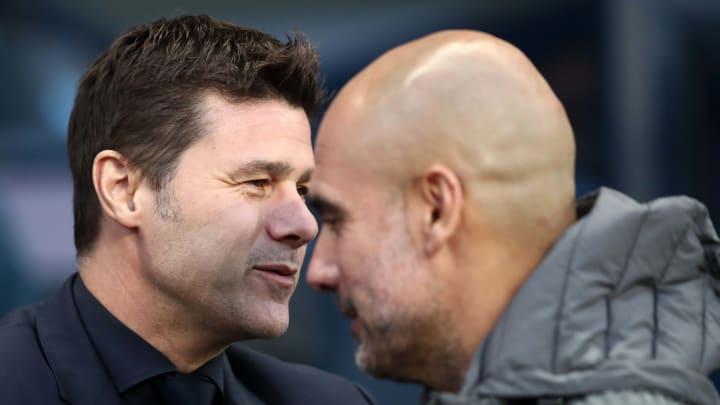 Pochettino und Guardiola trafen in der Premier League schon häufig aufeinenander