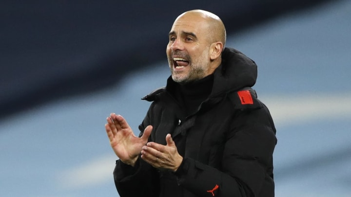Pep Guardiola has shut down claims that his team need a new striker in January to score goals