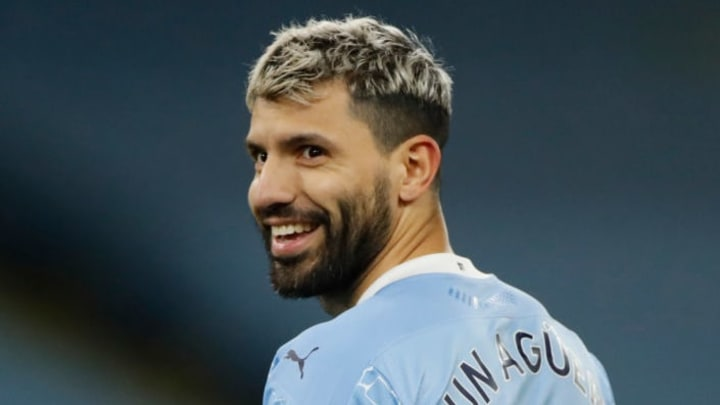 Aguero hearing about the new Fall Guys update