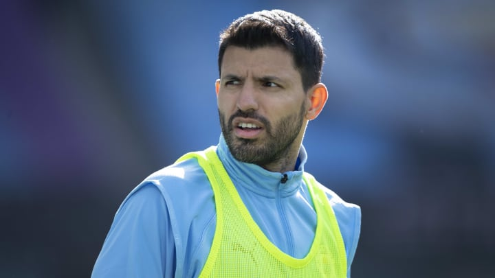 Sergio Aguero will leave Man City as a free agent this summer