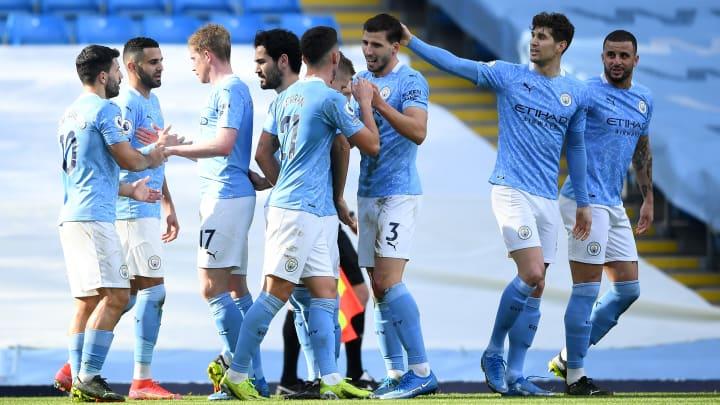 Manchester City's centre-backs were both on the scoresheet against West Ham