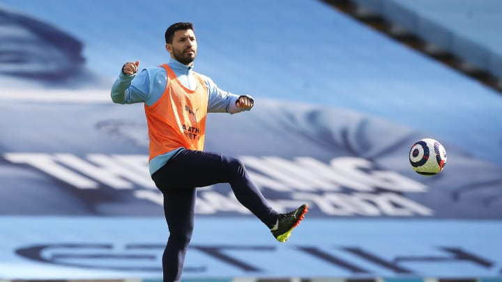 Sergio Aguero is reportedly considering a move to Tottenham