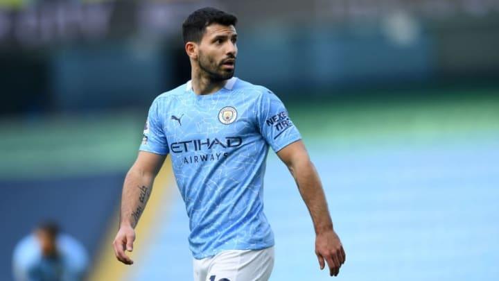 Sergio Aguero Manchester City Premier League