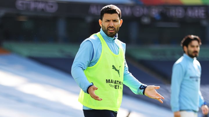 Sergio Aguero could prioritise staying in England over joining Real Madrid, Barcelona, Juventus or PSG