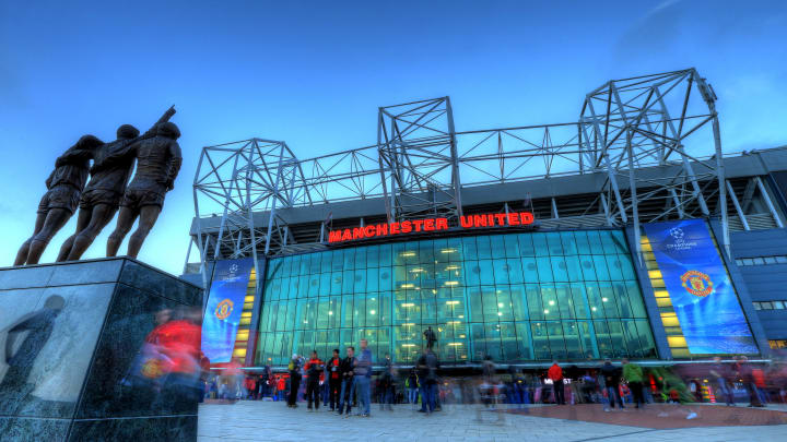 Old Trafford holds close to 80,000 spectators