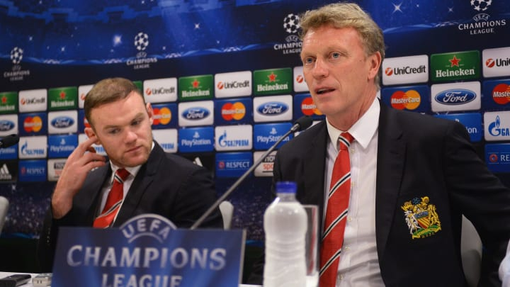 David Moyes managed Wayne Rooney at two clubs, Manchester United and Everton