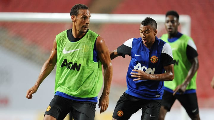 Ferdinand and Lingard were teammates at Manchester United