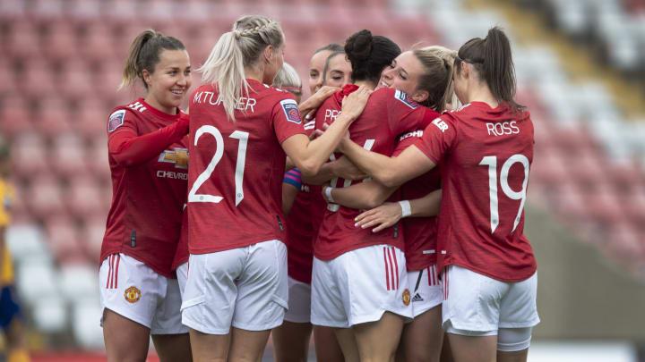 Man Utd have promised improved training facilities the women's team