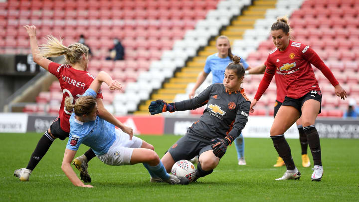 The WSL Manchester derby is a huge game for both clubs