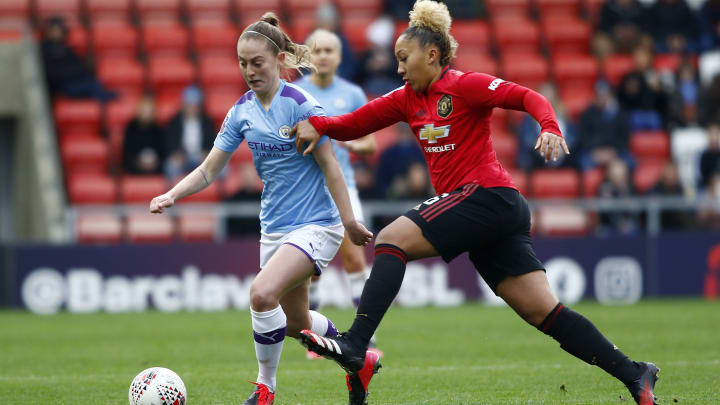 The Manchester derby is one of six fixtures during Women's Football Weekend
