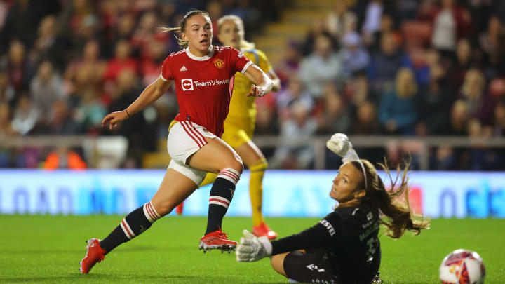 Man Utd & Reading played the first game of the 2021/22 WSL season