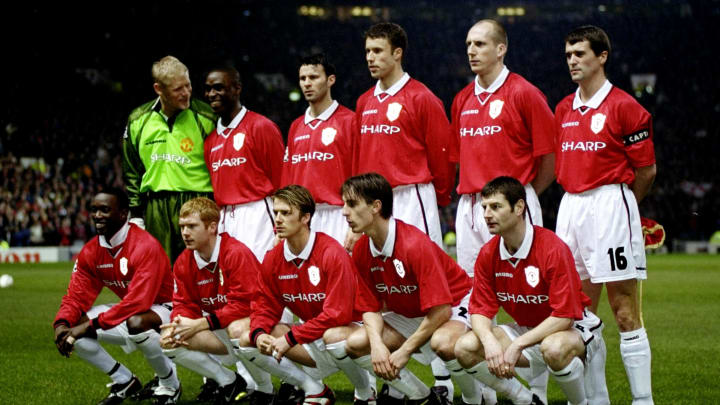 Manchester United team group