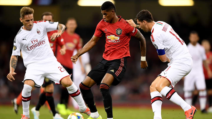 Manchester United will face AC Milan in the Europa League round of 16