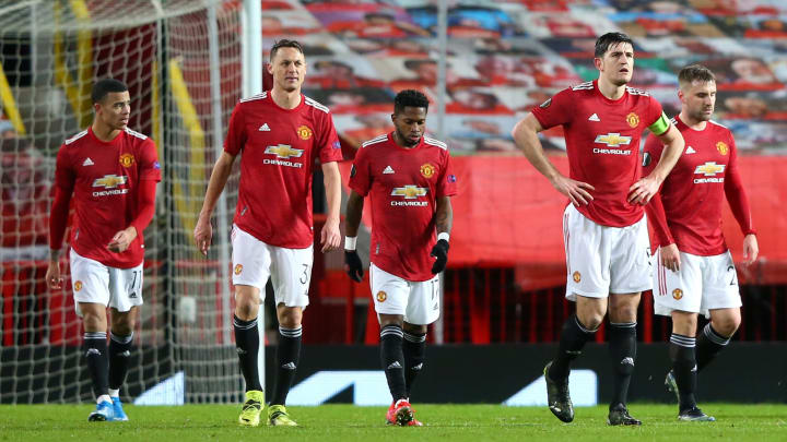 Man Utd are yet to win at home in the Europa League this season