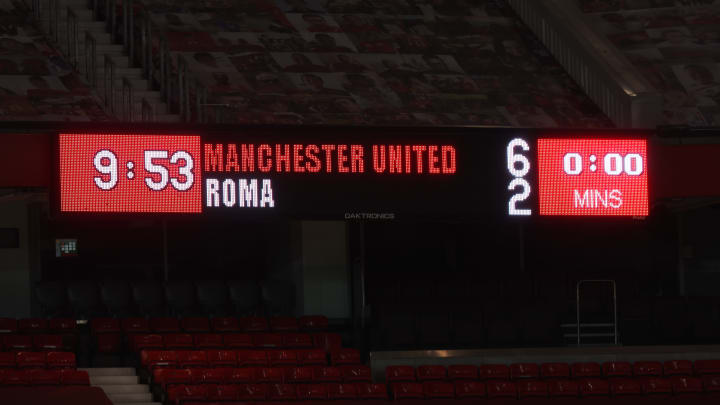 Manchester United 6-2 AS Roma - As it happened