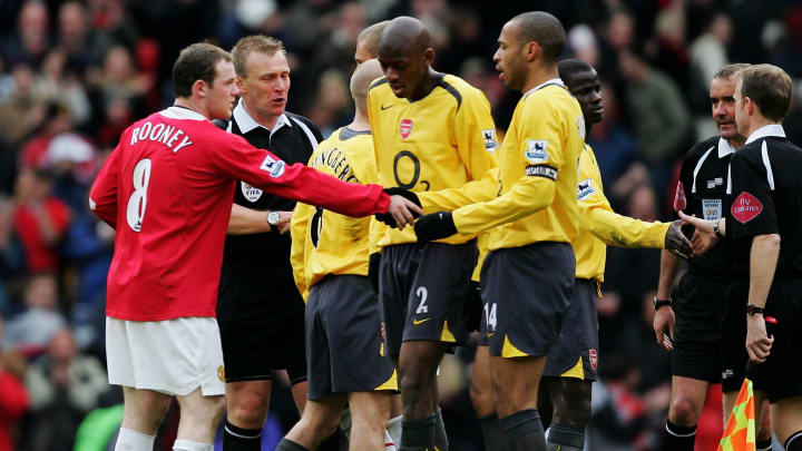 Thierry Henry and Wayne Rooney had multiple battles on the field for Arsenal and Manchester United respectively
