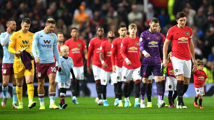 Aston Villa vs Manchester United - Liga Inggris 2019/20: Live ...