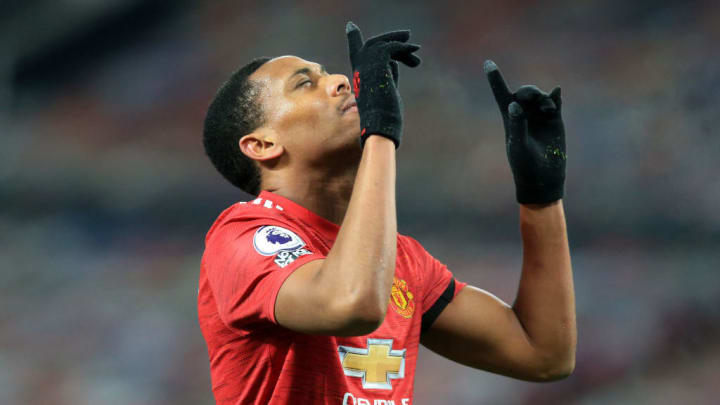 Anthony Martial totalise 17 buts en 2020