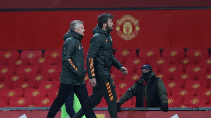 Manchester United Change Old Trafford Backdrop After Players Complained They Couldn't See Each Other
