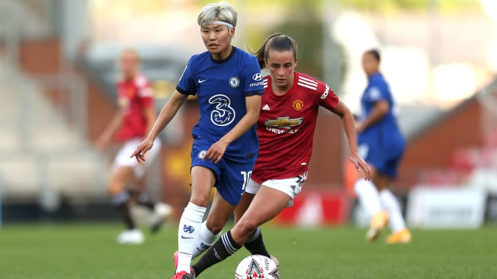 Manchester United face Chelsea in one of six WSL fixtures this weekend