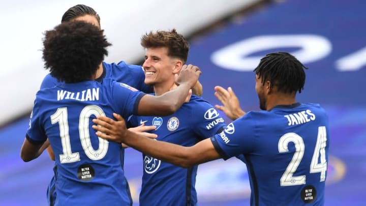 Mason Mount, Willian, Reece James