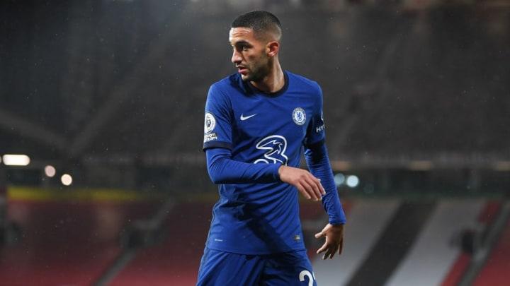 Hakim Ziyech Mercado Milan Chelsea