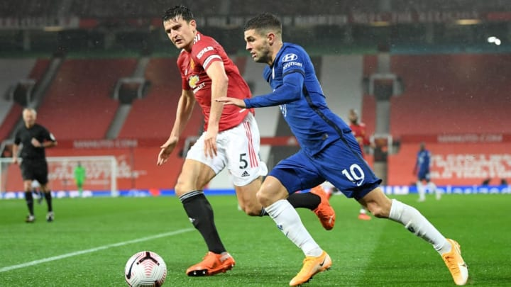 Maguire put in a solid display at the back