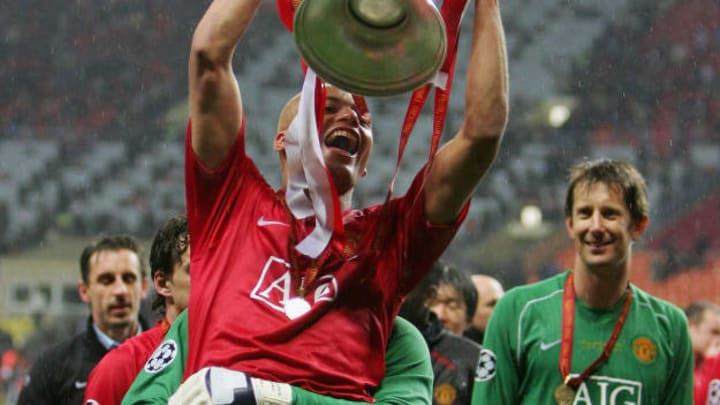 Wes Brown had a glorious career with Manchester United